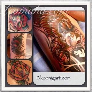 Dave Koenig Tattoo